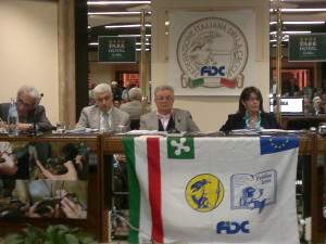 13 Aprile – Assemblea annuale FIDC Brescia dei 250 presidenti di sezione.