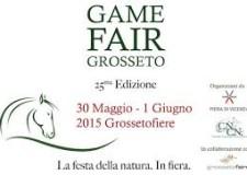 A GROSSETO LA 25^ EDIZIONE DI GAME FAIR ITALIA : in programma dal 30 maggio al 1° giugno 2015 .