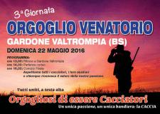 22 maggio a Gardone Val Trompia – NUMEROSE ADESIONI UFFICIALI ALL'ORGOGLIO VENATORIO.
