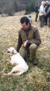 Attilio Marniga con Gino
