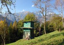Capanno di caccia- la tradizione lombarda