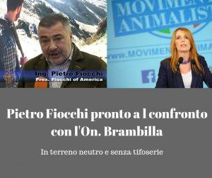 Pietro Fiocchi è scontro con la Brambilla