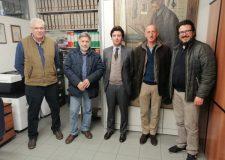 Michele Bornaghi (al centro) nuovo presidente FIDC Bergamo