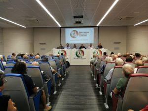 Lunezzane - serata ACL sulla caccia - un dibattito pubblico sulla caccia organizzato e moderato da Nicolò Bresciani, giovane particolarmente molo attivo e presidente della sezione ACL di Lumezzane