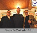 Marco De Toni ufficializza il passaggio nel C.P.A.