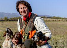 La prevenzione per il benessere dei nostri ausialiari  - Nella foto i setter del nostro amico vanni De Carlo