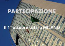 Partecipazione ! – 1° ottobre manifestazione a Milano